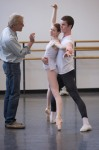 Peter Martins teaching at SAB taken by Rosalie O'Connor